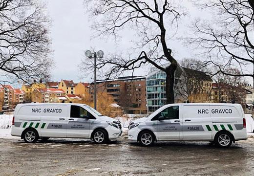 Rørfornying av NRC Gravco